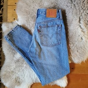 🌼Levi's 🌼501 High-waisted Skinny Jeans